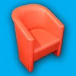 fotelja-crvena